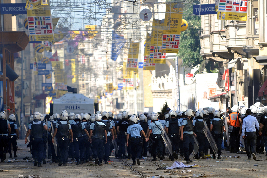 Forrás: AFP/Ozan Kose