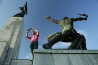 Turist�k Budapesten
