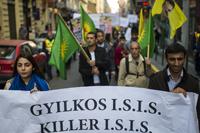 Kurd t�ntet�s az Iszl�m �llam ellen