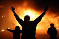 Zavarg�sok t�rtek ki az amerikai Fergusonban