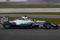 A Mercedes F1 W06